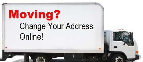 Moving? Change Your Address Online!