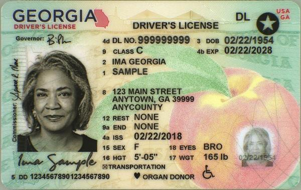 Real ID Female over 21 license